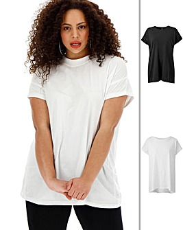 2 Pack Boyfriend T Shirts