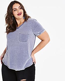 Vintage Wash Jersey Pocket T-shirt