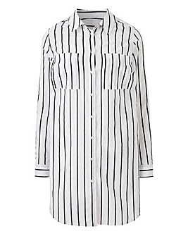 Petite Stripe Longline Tunic