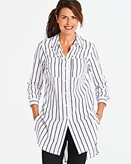 Stripe Longline Tunic
