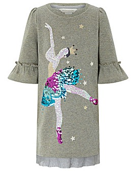 Monsoon Bernette Ballerina Sweat Dress