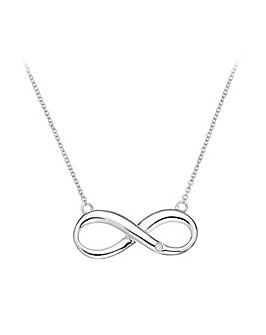 Hot Diamonds Infinity Necklace