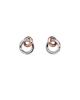 Hot Diamonds Interlocked Earrings