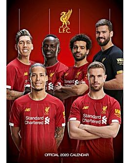 Liverpool FC A3 Calendar