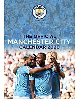 Manchester City FC A3 Calendar