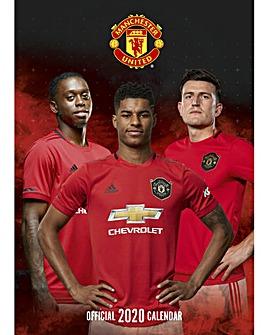 Manchester United FC A3 Calendar