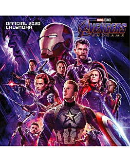 Avengers End Game Square Calendar