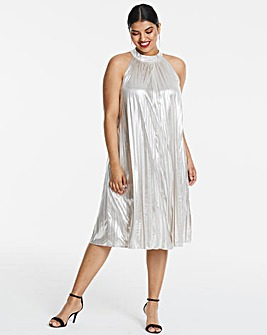 Joanna Hope Foil Swing Dress