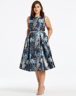 c4eab49dff8 Joanna Hope Jacquard Prom Dress