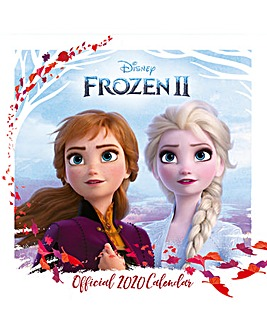 Disney Frozen 2 Square Calendar