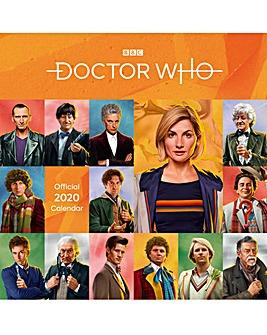 Doctor Who Square Calendar