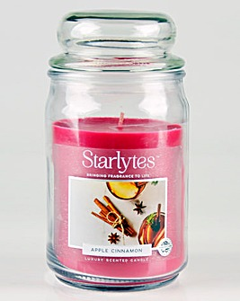 Apple Cinnamon Large Jar Candle