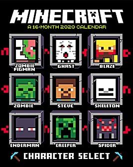Minecraft Square Calendar