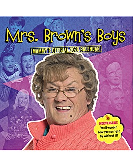 Mrs Brown Boys Square Calendar