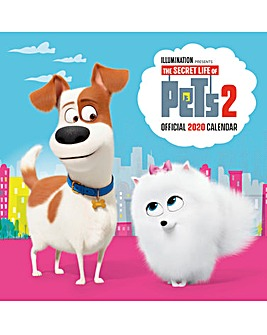 Secret Life of Pets 2 Square Calendar