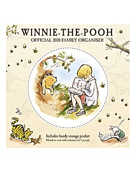 Winnie The Pooh Family Organiser