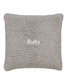 Personalised Blanket Cushion