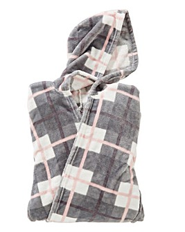 Supersoft Hooded Lounging Poncho with Pockets