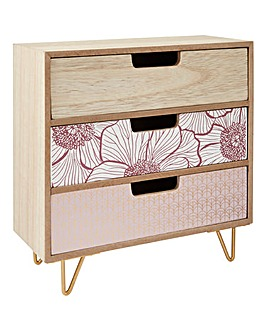 Decorative Mini Drawer Cabinet