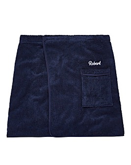 Personalised Mens Towelling Sarong