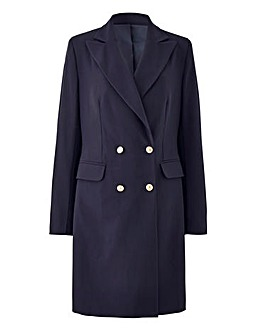 Joanna Hope Petite Navy Tailored Jacket