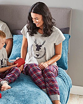 Personalised Ladies Family Pyjamas