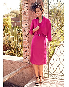 Joanna Hope Magenta Dress and Jacket