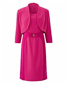 Joanna Hope Magenta Dress and Jacket