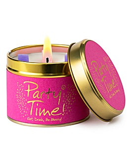 Lily-Flame Party Time Candle Tin