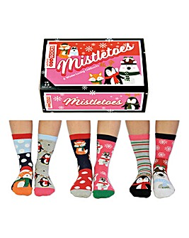 Mistletoes Oddsocks
