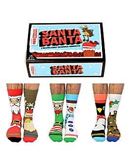 Santa Banta Oddsocks