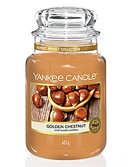 Yankee Candle Golden Chestnut Large Jar