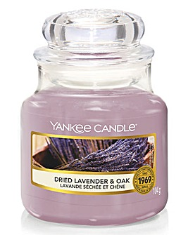 Yankee Candle Dried Lavender & Oak Small
