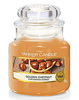 Yankee Candle Golden Chestnut Small Jar