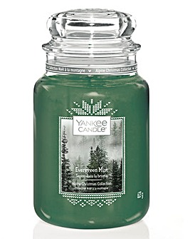 Yankee Candle Evergreen Mist Large Jar