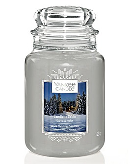 Yankee Candle Candlelit Cabin Jar