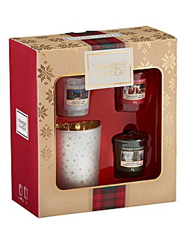 Yankee Candle Christmas Votive Gift Set