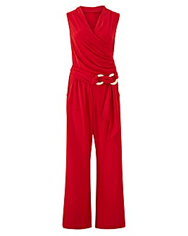 Joanna Hope Red Jumpsuit