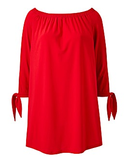 Joanna Hope Gypsy Sleeve Tunic