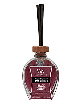 Woodwick 3oz Black Cherry Reed Diffuser