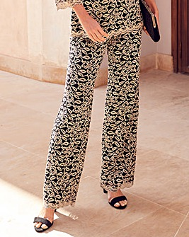 Joanna Hope Lace Trousers Regular