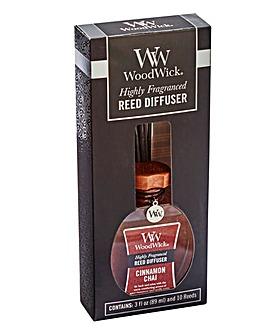 Woodwick 3oz Cinnamon Chai Reed Diffuser