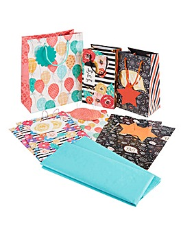 Gift Wrap and Tissue Bundle