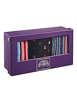 Saville Row Gift Boxed Socks
