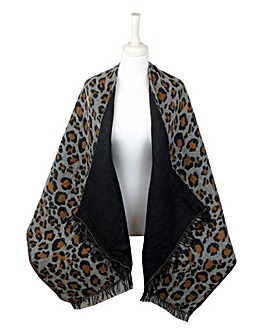 5 Ways to Wear Animal Print Wrap