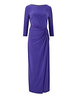 Joanna Hope Purple Jersey Maxi Dress
