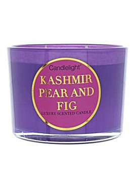 Kashmir Pear & Fig Multiwick Candle