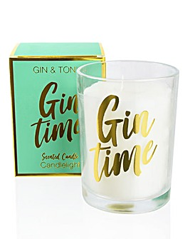 Gin Time Gift Boxed Candle
