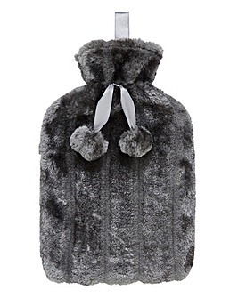 Faux Fur 2 Litre Hot Water Bottle