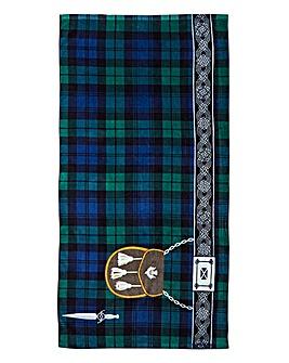 Kilt Design Towel